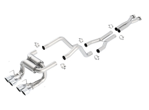 Borla 06-11 C6 Corvette Z06 & ZR1 ATAK® Cat-Back Exhaust w/ Quad Round 4
