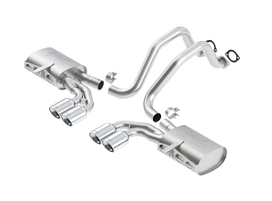 Borla 97-04 C5 Corvette ATAK® Axle-Back Exhaust w/ Quad Rolled Oval 4