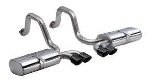 Corsa 97-04 C5 Corvette LS1/LS6 Sport Axle-Back Exhaust w/ Quad 3.5