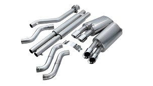 Corsa 92-95 C4 Corvette LT1 Sport Cat-Back Exhaust w/ Quad 3.5