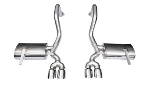 Corsa 97-04 C5 Corvette LS1/LS6 Xtreme Axle-Back Exhaust w/ Quad 4
