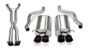 Corsa 09-13 C6 Corvette LS3 Sport Cat-Back w/ Quad 3.5