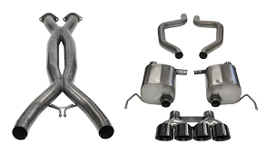Corsa 15-19 C7 Corvette Z06, ZR1, & GS(Man Trans) Xtreme Cat-Back w/ Quad 4.5