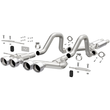 Magnaflow 00-04 C5 Corvette Competition Series Cat-Back Exhaust w/ Quad 4