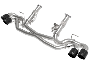 aFe 2020+ C8 Corvette MACH Force-XP Muffler-Delete Exhaust w/ Quad 4.5