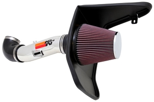 K&N 10-15 Camaro 3.6l V6 Polished Cold Air Intake FIPK