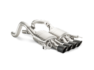 Akrapovic 14-19 C7 Corvette Axle-Back Exhaust w/ Carbon Tips