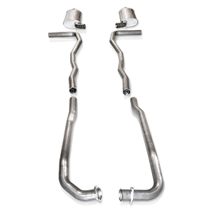 SW 63 C2 Corvette SBC Turbo-S Manifold-Back Exhaust (OEM 2.5