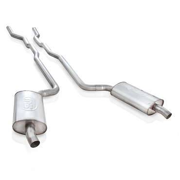 SW 64-67 C2 Corvette SBC Turbo-Chambered Manifold-Back Exhaust (Header Connect)