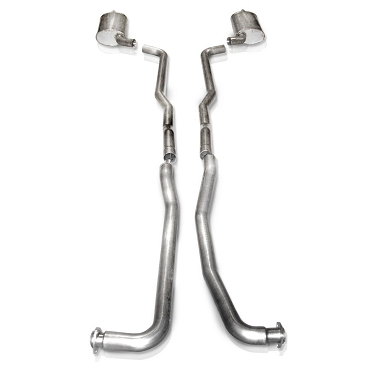 SW 64-67 C2 Corvette SBC Turbo-S Manifold-Back Exhaust (OEM 2