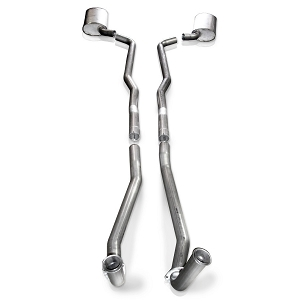 SW 68-72 C3 Corvette BBC Turbo-S Manifold-Back Exhaust (Manual Trans)