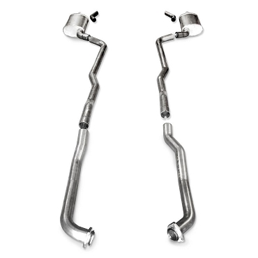 SW 73-82 C3 Corvette BBC Turbo-S Manifold-Back Exhaust (Manual Trans)