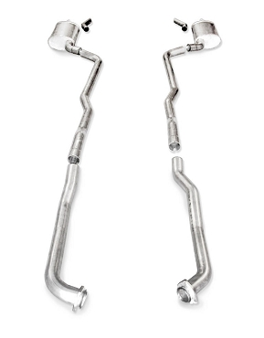 SW 73-82 C3 Corvette BBC Turbo-S Manifold-Back Exhaust (Auto Trans)